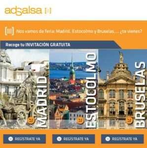 Madrid, Estocolmo y Bruselas.. ¡Vente de feria! 1 Madrid, Estocolmo y Bruselas.. ¡Vente de feria!