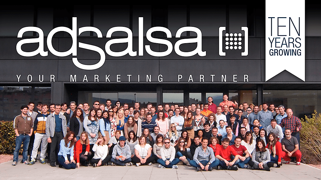 adSalsa celebrates 10 years of business!