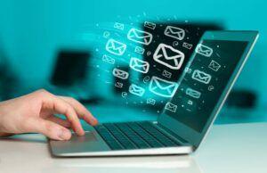 computer inviando email bounces