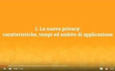 Arrivano le video-pillole di adSalsa sulla riforma UE della privacy!