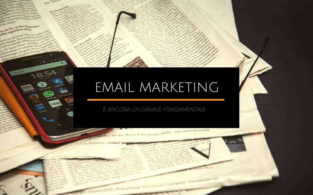 Gli utenti preferiscono le email. Il 61% dei clienti preferisce ancora ricevere avvisi commerciali per posta elettronica.