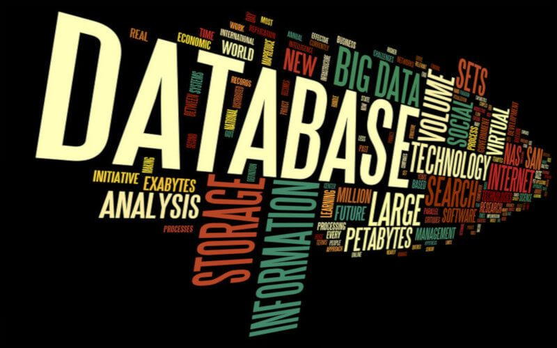 comprar base de datos