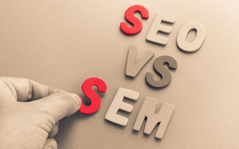 ¿Cuál es la Diferencia entre SEO y SEM?